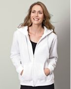 Promotional Gildan Ladies' 7.75 oz. Heavy BlendT 50/50 Full-Zip Hood