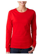 Monogrammed Gildan Ladies' SoftStyle Long-Sleeve T-Shirt