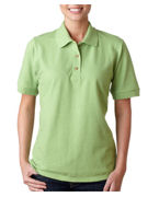 Monogrammed Gildan Ladies Ultra Cotton Pique Polo