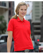 Promotional Gildan Missy Fit DryBlendTM Pique Polo