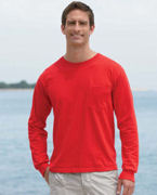Promotional Gildan 6.1 oz. Ultra Cotton Long-Sleeve Pocket T-Shirt