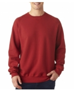 Embroidered Hanes Adult Nano Blended Crew Neck Fleece