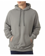 Logo Hanes Adult Nano Blended Hooded Pullover Fleece