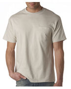 Personalized Hanes Adult Tagless Short-Sleeve Beefy-T with Pocket