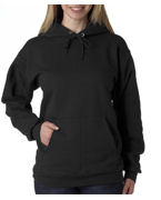 Logo Hanes Adult Ultimate Cotton Hooded Pullover