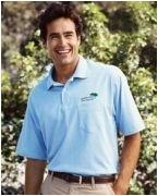Custom Embroidered Hanes Stedman 5.5 oz., 50/50 Jersey Pocket Polo