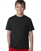 Custom Logo Hanes YOUTH 4 OZ COOL DRY SHORT SLEEVE TEE