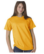Monogrammed Hanes Youth Tagless Short-Sleeve Beefy-T