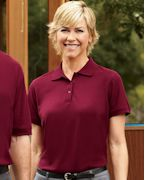 Customized Harriton Ladies' 5 oz. Blend-Tek Polo