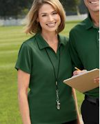 Promotional Harriton Ladies' Double Mesh Sport Shirt