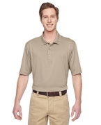 Monogrammed Harriton Men's Advantage IL Snap Placket Performance Polo