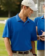 Custom Embroidered Harriton Men's Micro-Pique Polo