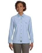 Monogrammed Hook & Tackle Ladies' Peninsula Long-Sleeve Performance Fishing Shirt