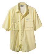 Logo Hook & Tackle Men's Gulf Stream Short-Sleeve Fishing Shirt