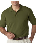 Logo Izod Mens Classic Silk-Washed Pique Polo