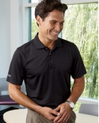 Embroidered Izod Men's Dobby Performance Polo