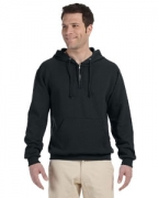 Personalized Jerzees 8 oz., 50/50 NuBlend Fleece Quarter-Zip Pullover Hood