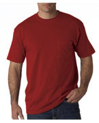 Monogrammed Jerzees Adult Heavyweight Blend T-Shirt with Pocket
