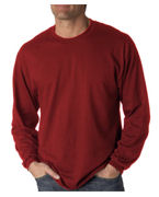 Custom Embroidered Jerzees Adult Heavyweight Long-Sleeve T-Shirt