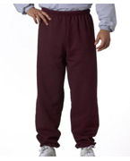 Embroidered Jerzees Adult Mid-Weight Sweatpants