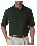 Personalized Jerzees Adult Pique Polo with SpotShield