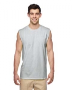 Embroidered Jerzees Dri-POWER ACTIVE Adult Sleeveless Shooter T-Shirt