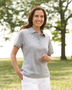 Customized Jerzees Ladies' 5.6 oz., 50/50 Jersey Polo with SpotShieldT