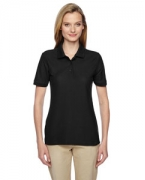 Monogrammed Jerzees Ladies' 5.3 oz., 65/35 Easy-Care Polo