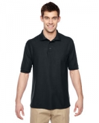 Custom Logo Jerzees Men's 5.3 oz., 65/35 Easy-Care Polo