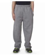 Customized Jerzees NuBlend Youth Pocketed Open-Bottom Sweatpants
