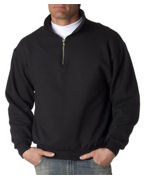 Custom Embroidered Jerzees 9.5 oz. Super Sweats 50/50 Quarter-Zip Pullover