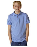 Monogrammed JERZEES Youth 50/50 Jersey Polo