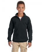 Personalized Jerzees Youth 8 oz., 50/50 NuBlend Quarter-Zip Cadet Collar Sweatshirt