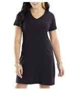 Embroidered LA T Ladies T-Shirt Dress