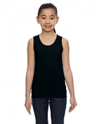 Custom Embroidered LAT Girls' Fine Jersey Tank