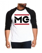 Personalized MG Baseball T-shirt by Money Gang