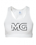 Monogrammed MG Bra by Money Gang