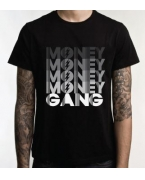 Promotional Money Money Money Money Gang T-shirt