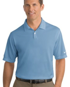 Monogrammed NEW NIKE GOLF - Dri-FIT Pebble Texture Sport Shirt. .