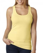 Logo Next Level Ladies' Jersey Racerback Tank