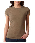 Logo Next Level Ladies' Poly/Cotton Tee