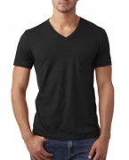 Personalized Next Level Men's CVC Tee with Pocket