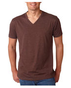 Logo Next Level Men's CVC V-Neck Tee