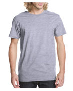Embroidered Next Level Mens Fitted Short-Sleeve Crew