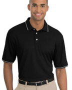Logo NIKE GOLF - Dri-FIT Classic Tipped Sport Shirt. .