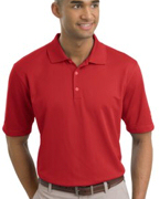 Embroidered NIKE GOLF - Dri-FIT UV Textured Sport Shirt. .