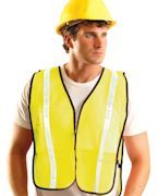 Customized OccuNomix Value Mesh Gloss Vest