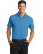 Logo Port Authority� Dry Zone� Grid Polo