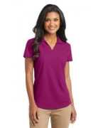 Custom Logo Port Authority� Ladies Dry Zone� Grid Polo