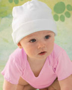 Embroidered Rabbit Skins Infant's 5 oz. Baby Rib Cap